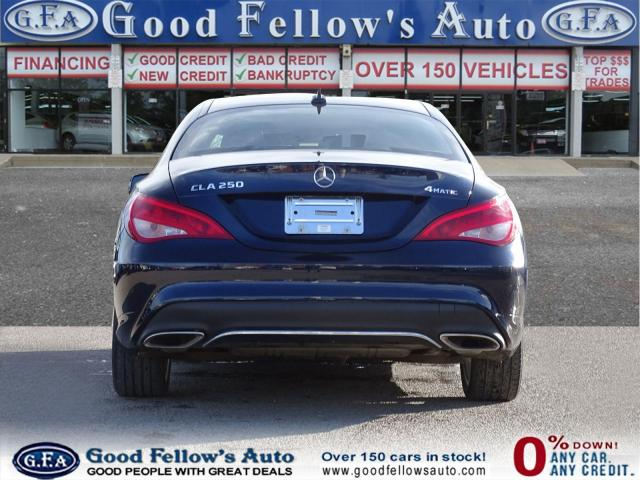 2017 Mercedes-Benz CLA250 4MATIC, PANROOF, NAV, LEATHER & POWERS SEATS, LDW