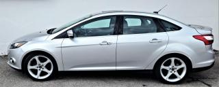 Used 2014 Ford Focus TITANIUM,LATHER, NAVIGATION, REARVIEW CAM,SUNROOF for sale in Brantford, ON