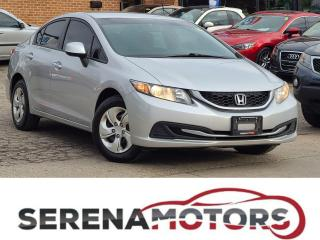 Used 2013 Honda Civic LX | AUTO | HEATED SEATS | BLUETOOTH | for sale in Mississauga, ON