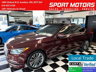 Used 2016 Hyundai Genesis Luxury+Cooled Seats+New Tires+Roof+ACCIDENT FREE for sale in London, ON