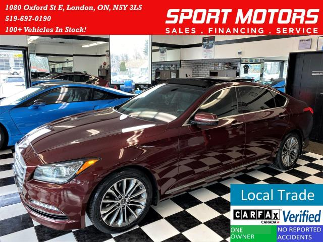 2016 Hyundai Genesis Luxury+Cooled Seats+New Tires+Roof+ACCIDENT FREE