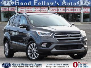 Used 2017 Ford Escape TIATANIUM 4WD, NAV, MEMORY SEATS, PAN ROOF, 4CY 2L for sale in Toronto, ON