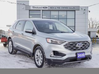 Used 2020 Ford Edge Titanium CLEAN CARFAX | 301A for sale in Winnipeg, MB