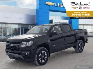 New 2021 Chevrolet Colorado 4WD Z71 The Best Deals to come in 2021 for sale in Winnipeg, MB