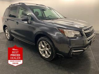 Used 2018 Subaru Forester 2.5i LIMITED *NAVIGATION - STARLINK - HTD LEATHER* for sale in Winnipeg, MB