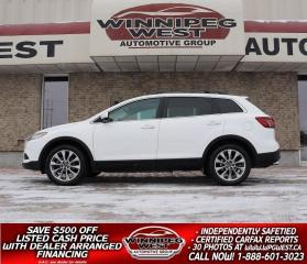 Used 2015 Mazda CX-9 GT V6 AWD 7 PASS, FULLY LOADED, STUNNING LOCAL SUV for sale in Headingley, MB