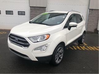 Used 2019 Ford EcoSport Titanium 4WD with Nav & Adaptive Cruise for sale in Kentville, NS