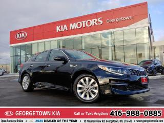 Used 2018 Kia Optima EX | LTHR | B/U CAM | HTD SEATS | ALLOYS | 3,913KM for sale in Georgetown, ON
