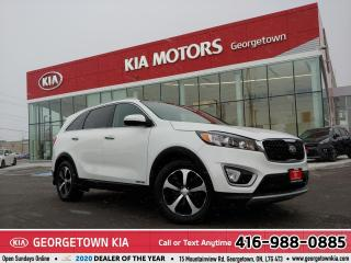Used 2018 Kia Sorento EX+| AWD | 7 PASS | LTHR | PANO ROOF | BU CAM | BT for sale in Georgetown, ON