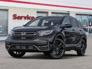 New 2021 Honda CR-V Black Edition 4WD for sale in Brandon, MB