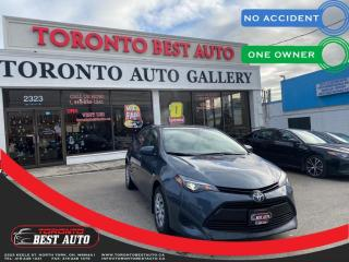 Used 2019 Toyota Corolla LE PKG  NO ACCIDENT LANE DEP ADPTV CRUISE CNTRL  ONE OWNER for sale in Toronto, ON