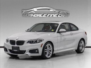 Used 2017 BMW 2 Series 230i xDrive M Sport, Navigation, Red Interior for sale in Concord, ON