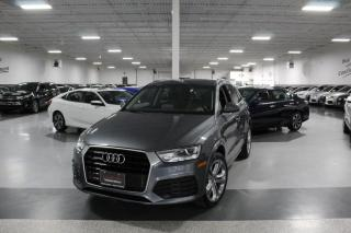 Used 2018 Audi Q3 PROGRESSIV QUATTRO NO ACCIDENTS I PANOROOF I REAR CAM I BT for sale in Mississauga, ON