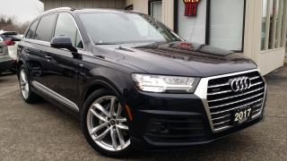 Used 2017 Audi Q7 3.0T Technik S-Line NAV! 360 CAM! HUD! B&O SOUND! PANO ROOF! for sale in Kitchener, ON