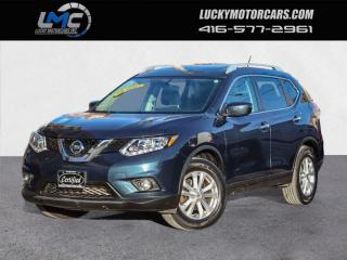 Used 2016 Nissan Rogue SV AWD-PANOROOF-CAMERA-POWER HEATED SEATS-60KMS for sale in Toronto, ON