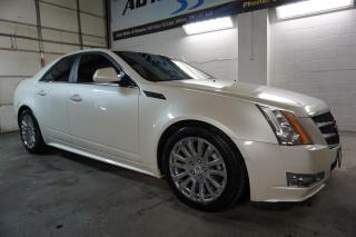 Used 2010 Cadillac CTS LUXURY AWD CERTIFIED 2YR WARRANTY *FREE ACCIDENT* PANO SUNROOF BLUETOOTH HEAT/COLD LEATHER ENGINE REMOTE START for sale in Milton, ON