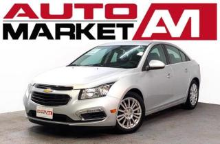 Used 2016 Chevrolet Cruze Limited Limited Certified! Backup Camera! We Approve All Credit! for sale in Guelph, ON