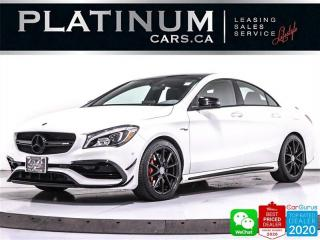 Used 2018 Mercedes-Benz CLA-Class AMG CLA45, 375HP,AMG PKG, APPLE/ANDORID, NIGHT PKG for sale in Toronto, ON