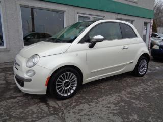 Used 2012 Fiat 500 Voiture à hayon 2 portes Lounge for sale in St-Jérôme, QC