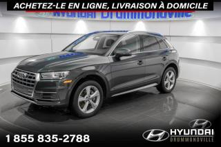 Used 2018 Audi Q5 PROGRESSIV+GARANTIE+NAVI+TOIT PANO+WOW!! for sale in Drummondville, QC