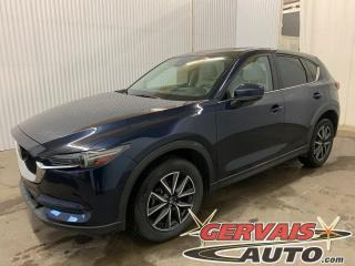 Used 2018 Mazda CX-5 GT Tech AWD GPS Cuir Toit Ouvrant Mags *Ensemble Technologie* for sale in Trois-Rivières, QC