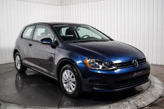Used 2017 Volkswagen Golf TRENDLINE A/C CAMERA DE RECUL MAGS for sale in St-Hubert, QC