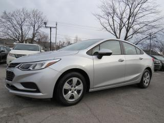 Used 2016 Chevrolet Cruze GROUPE ELECTRIQUE 6 VITESSE MANUELLE 75,000KM for sale in St-Eustache, QC