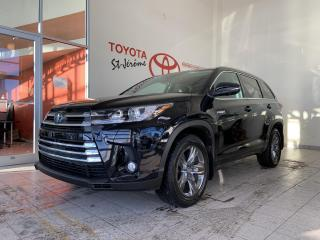 Used 2017 Toyota Highlander HYBRID * AWD * HYBRID * LIMITED * CUIR * TOIT PANO * GPS for sale in Mirabel, QC