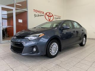 Used 2015 Toyota Corolla * S * CAMERA DE RECUL * SIEGES CHAUFFANTS * for sale in Mirabel, QC