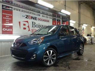 Used 2015 Nissan Micra MICRA SR DÉMARREUR DISTANCE MAG CAMÉRA !!!! for sale in Blainville, QC
