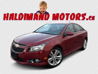 Used 2013 Chevrolet Cruze 2LT RS for sale in Cayuga, ON