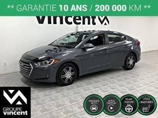 Used 2018 Hyundai Elantra GL ** GARANTIE 10 ANS ** Version bien équipée a bas prix! for sale in Shawinigan, QC