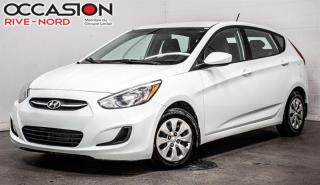 Used 2016 Hyundai Accent GL SIEGES.CHAUFFANTS+BLUETOOTH+A/C for sale in Boisbriand, QC