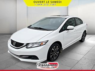 Used 2015 Honda Civic EX * A VENDRE PRES DE QUEBEC* for sale in Donnacona, QC