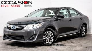 Used 2012 Toyota Camry HYBRID LE A/C+GR.ELECTRIQUE for sale in Boisbriand, QC