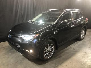 Used 2016 Toyota RAV4 Hybrid 4dr Limited for sale in St-Eustache, QC