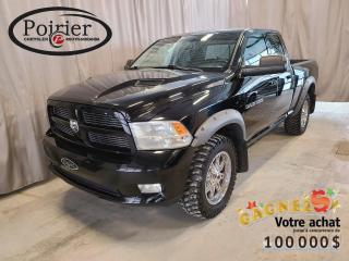 Used 2012 RAM 1500 Sport Look distinctif for sale in Rouyn-Noranda, QC
