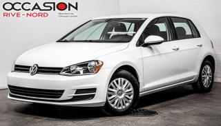 Used 2017 Volkswagen Golf Trendline 1.8 TSI BLUETOOTH+SIEGES.CHAUFFANTS+MAGS for sale in Boisbriand, QC