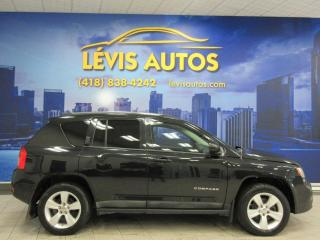 Used 2011 Jeep Compass 4X4 MANUEL 98700 KM NORTH EDITION BANC C for sale in Lévis, QC