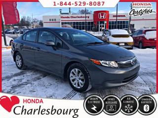 Used 2012 Honda Civic LX**AUTOMATIQUE**BAS KM** for sale in Charlesbourg, QC