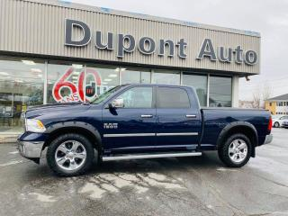 Used 2016 RAM 1500 Big Horn cabine d'équipe 4RM 149 po for sale in Alma, QC