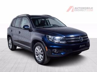 Used 2017 Volkswagen Tiguan WOLFSBURG 4MOTION CUIR TOIT PANO  CAMERA DE RECUL for sale in Île-Perrot, QC
