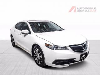 Used 2016 Acura TLX TECH PACK CUIR TOIT MAGS NAV CAMERA DE RECUL for sale in Île-Perrot, QC