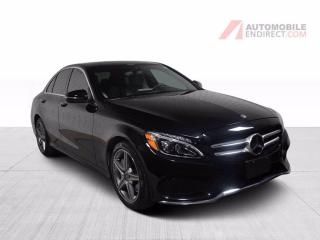 Used 2018 Mercedes-Benz C-Class C300 AMG Pack 4Matic Cuir Toit Pano GPS Caméra for sale in Île-Perrot, QC