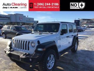 Used 2018 Jeep Wrangler Unlimited Sport S for sale in Saskatoon, SK