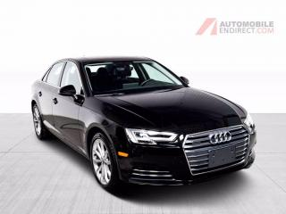 Used 2017 Audi A4 progressiv quattro cuir toit mags nav for sale in Île-Perrot, QC