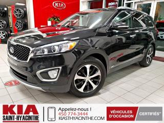 Used 2016 Kia Sorento EX V6 AWD ** CAMÉRA DE RECUL / CUIR for sale in St-Hyacinthe, QC