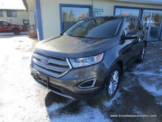 Used 2017 Ford Edge ALL-WHEEL DRIVE SEL EDITION 5 PASSENGER 3.5L - V6.. NAVIGATION.. LEATHER.. HEATED SEATS & WHEEL.. PANORAMIC SUNROOF.. BACK-UP CAMERA.. BLUETOOTH.. for sale in Bradford, ON