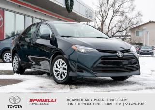 Used 2017 Toyota Corolla LE for sale in Pointe-Claire, QC