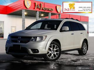 Used 2015 Dodge Journey AWD,R/T,Leather for sale in Brandon, MB